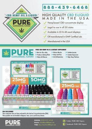 Buy Pure CBD Vapors Online In Their Store