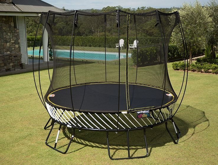 The Next Step in Trampoline Design is Here