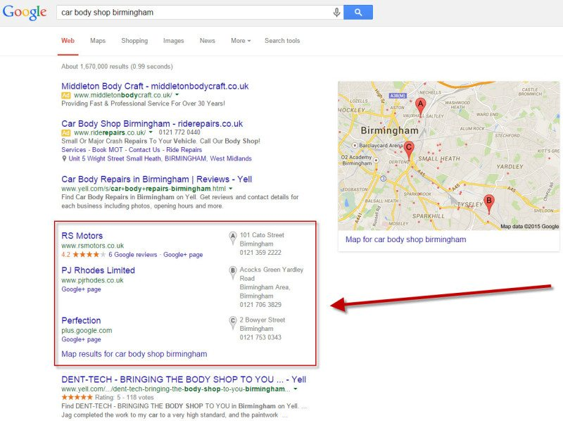 Local SEO: Getting Your Business in the Map Pack