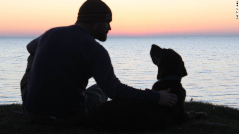 Man takes his dog, dying of cancer, on one last, epic road trip