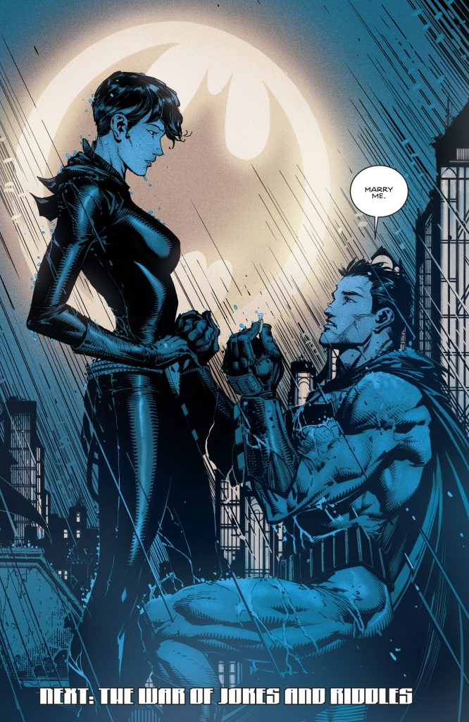 Batman asks Catwoman to marry him in new comic but honestly she can do better
