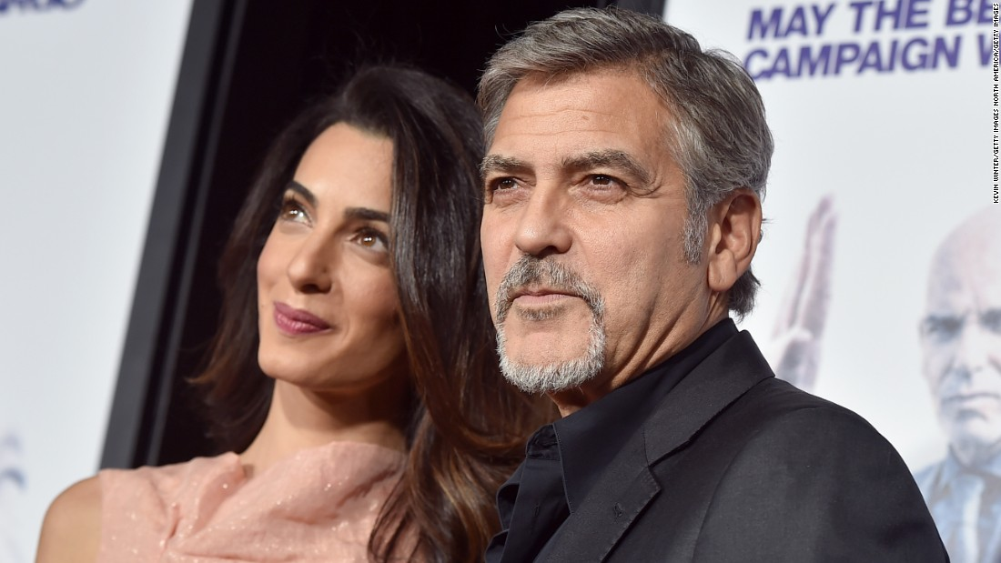 George and Amal Clooney welcome twins