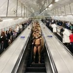 """Drastic anti-terror measures in London has """"Spartans"""" walking the streets and underground."""