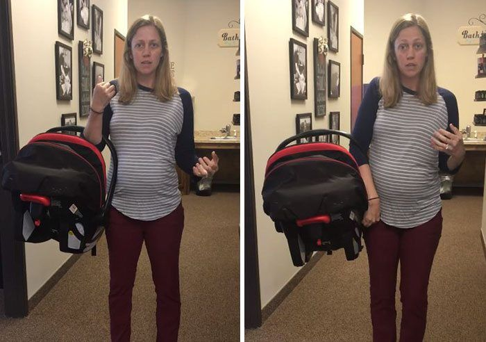 Weve Been Carrying Baby Car Seats WRONG The Whole Time