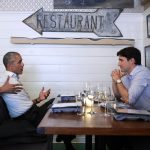 Obama Follows Montreal Speech With Dreamy Trudeau Dinner Date