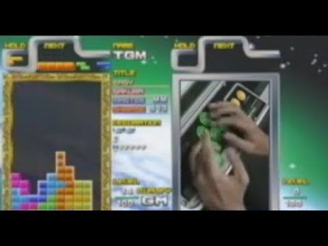 One of the best Tetris players in the world.