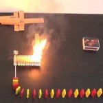 This domino course powered by matches is absolutely brilliant.