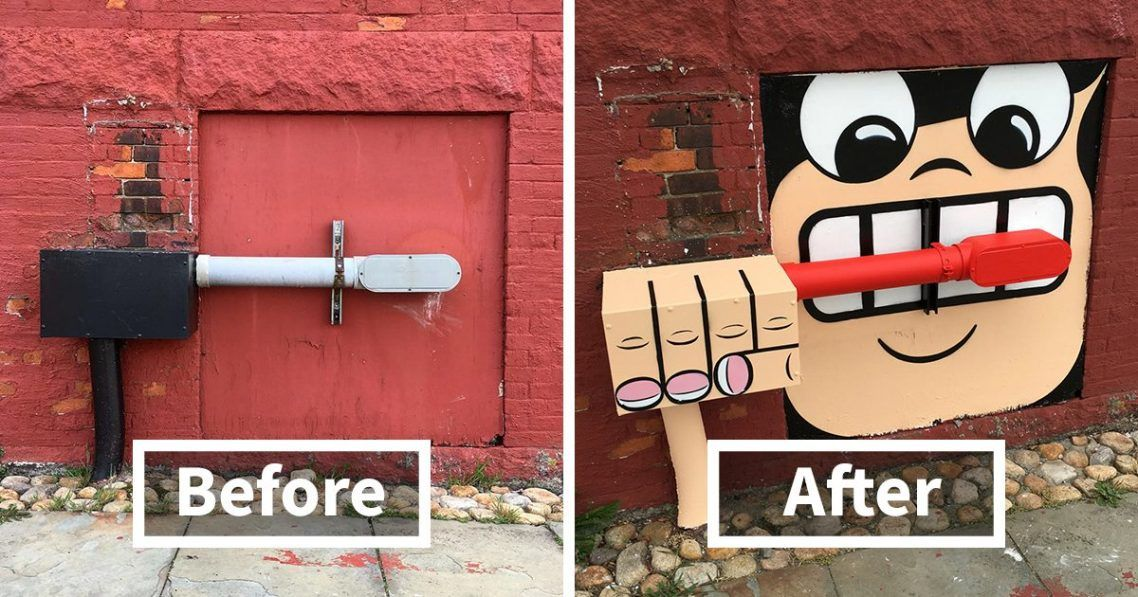 Theres A Genius Street Artist Running Loose In New York, And Lets Hope Nobody Catches Him