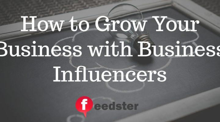 How to Grow Your Online Business with Business Influencers