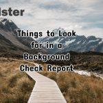 Things to Look for in a Background Check Report