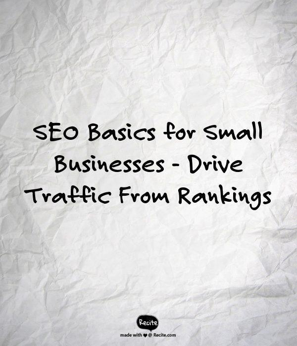SEO Basics For Local SEO