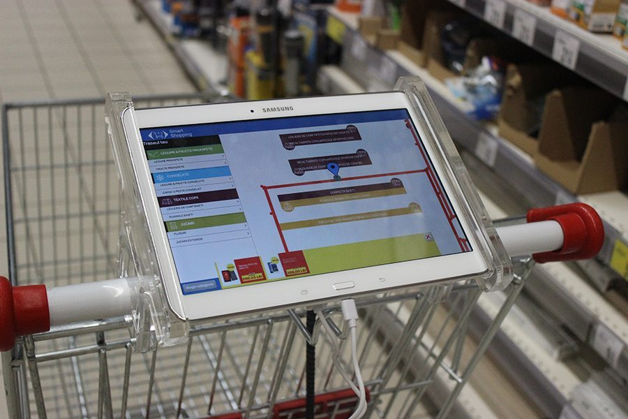 Smart Shopping Carts and In-Store Beacons Improve ROI