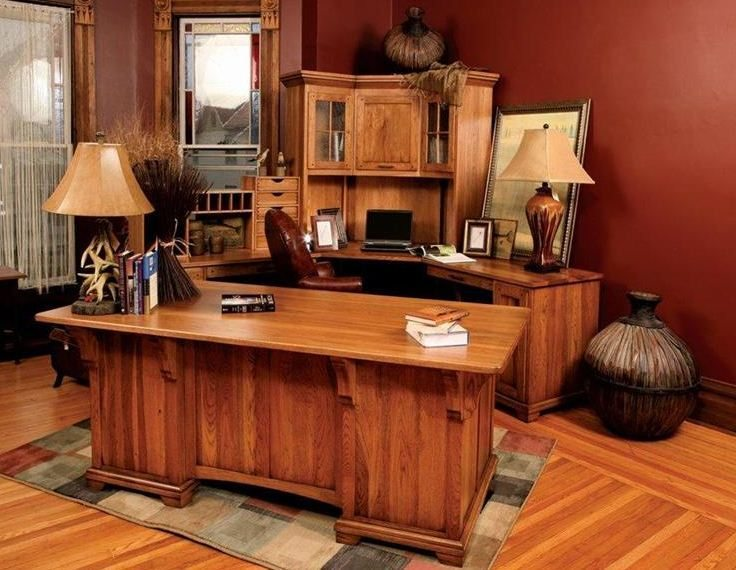 Handcrafted wood furniture completes your office feedster the strength and durability of wood make it a great material that can last for decades even centuries handed down from one generation to another solutioingenieria Images