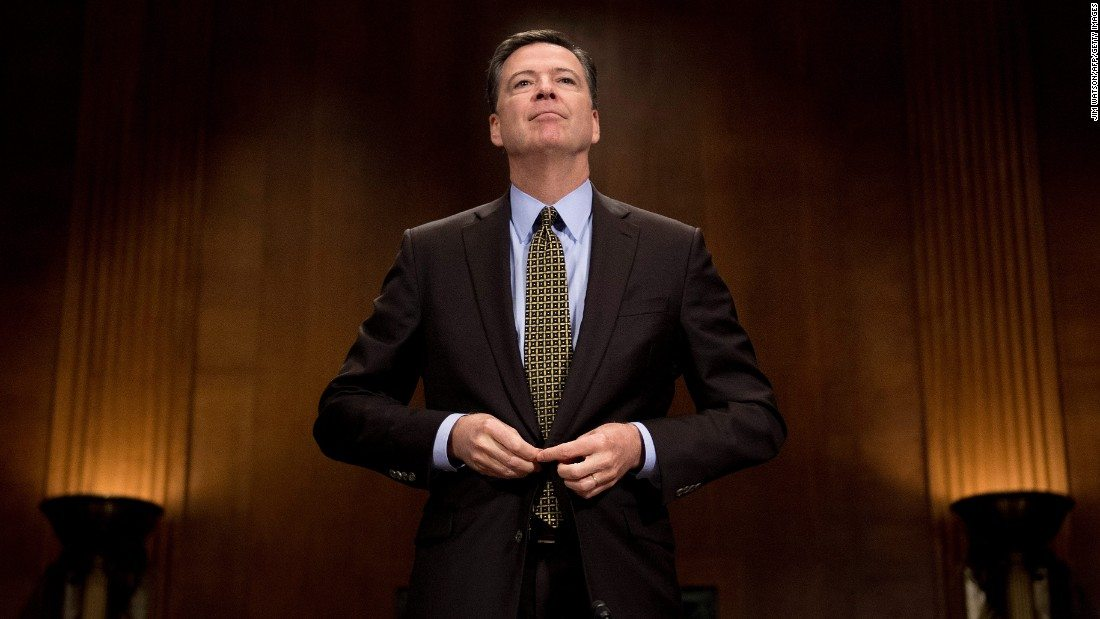 How the James Comey hearing is Washington's Super Bowl