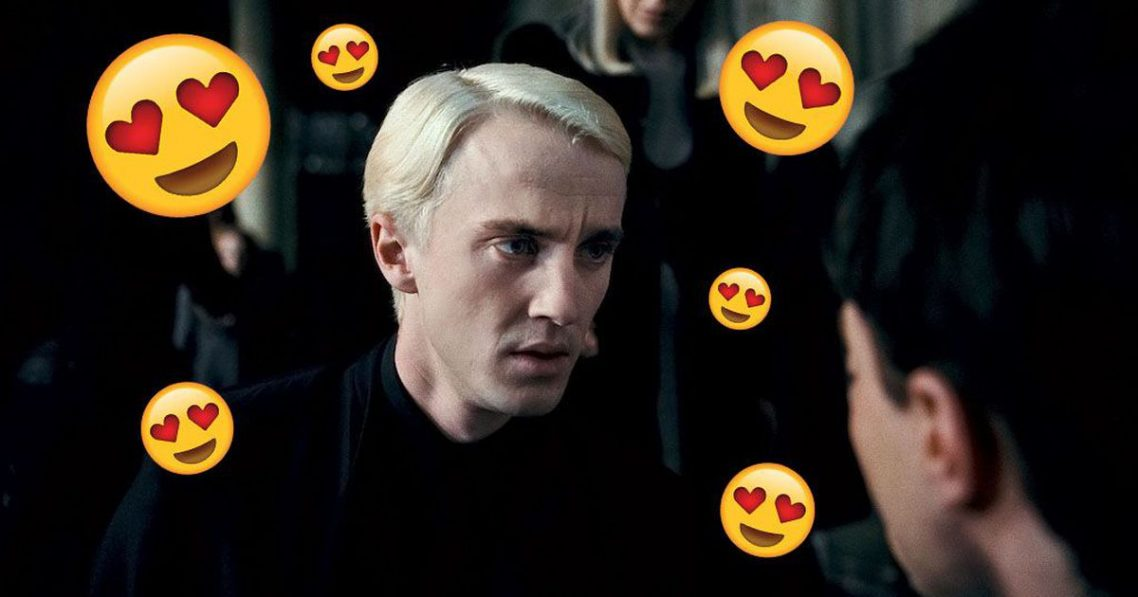 Someone's teenage crush on Draco Malfoy changed my perception of Harry Potter