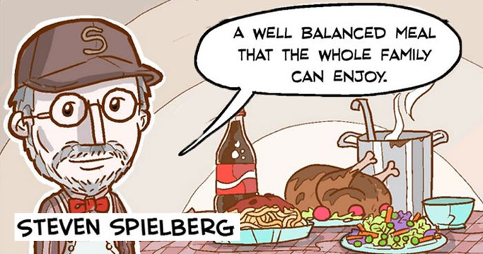 14 Comics Reveal What Would Happen If Movie Directors Were Chefs