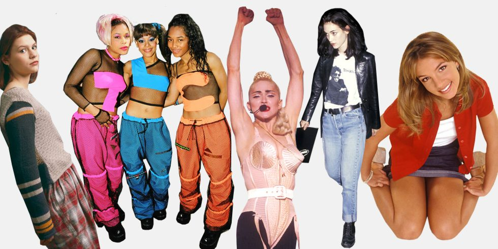 Bringing Back the 90s Outfits