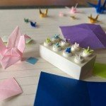 I Make Incredibly Tiny Origami Cranes That Only Take Around 45 Minutes!