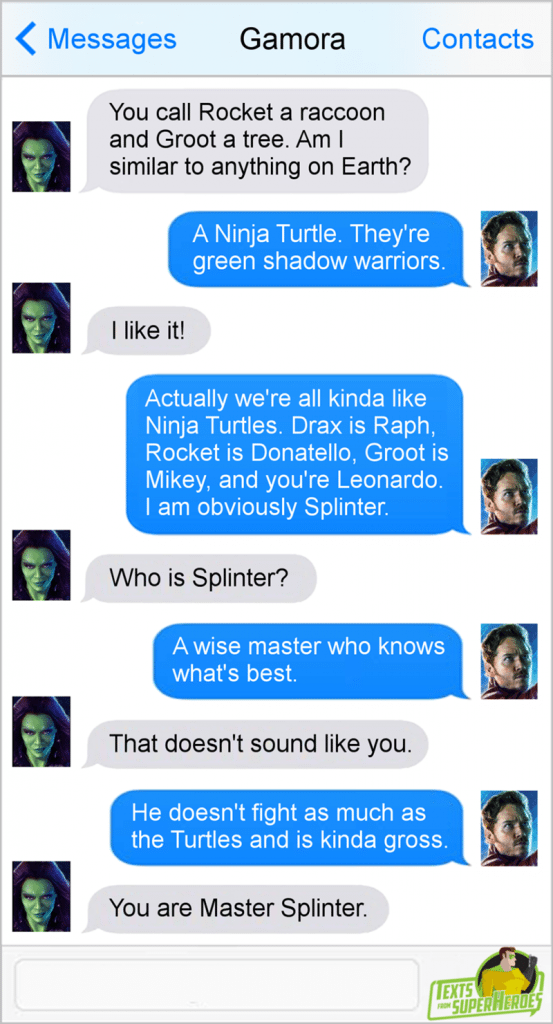 15 Funny Texts From Superheros