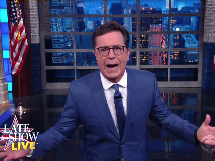Stephen Colbert Was Out Last Week But Needs To Address This One Piece Of Trump News