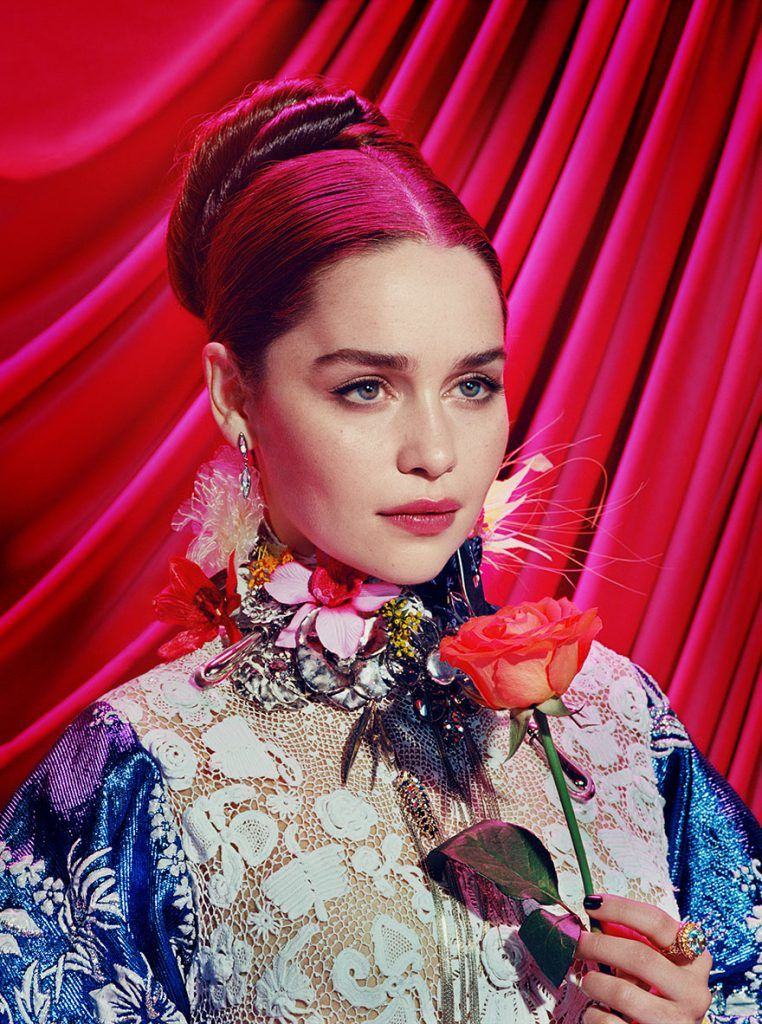 Game Of Thrones Characters Like You Havent Seen Before In A Psychedelic Photoshoot