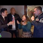 Jimmy And Dwayne Johnson Surprise Staffer With Military Homecoming
