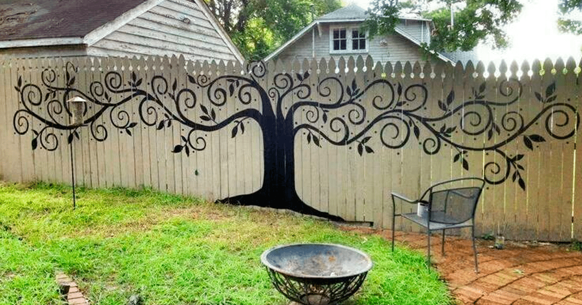 15 Homeowners Who Took Their Backyard Fences To A New Level