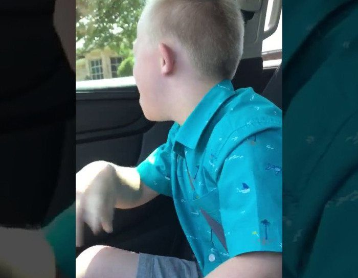 This kid's commitment to belting Whitney Houston is unparalleled.