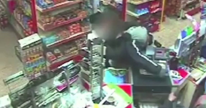 When He Tried To Rob A Store, He Quickly Found Out He Had Another Thing Coming