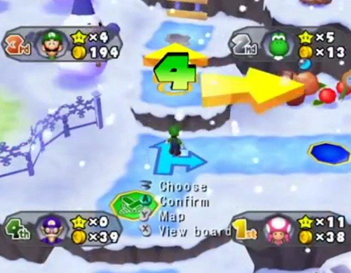 The luckiest thing to ever happen in Mario Party.