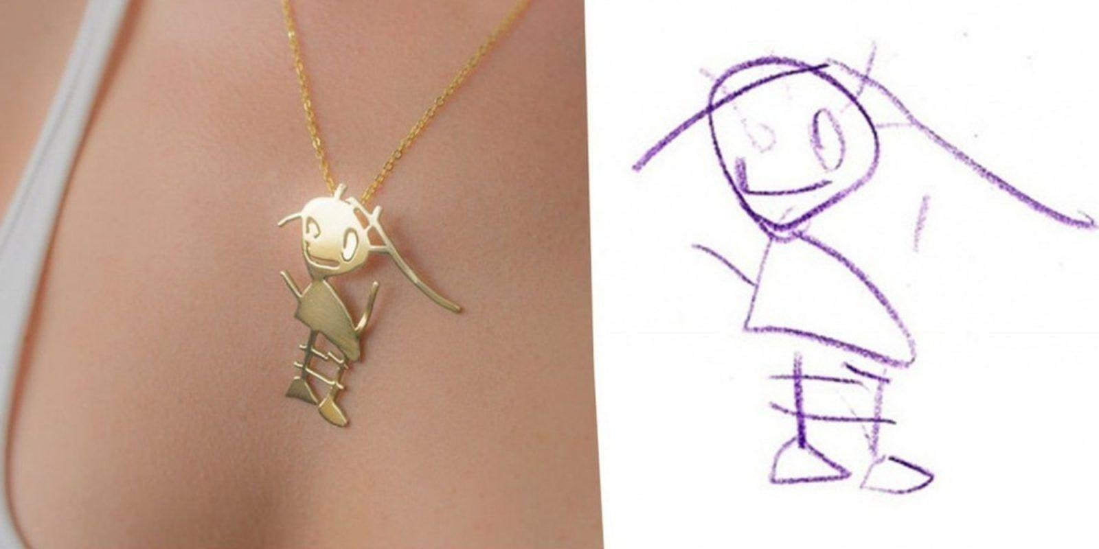 These Artists Will Transform Your Kid's Drawings Into Jewelry
