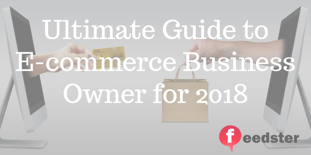 Ultimate Guide Ecommerce Business Owner 2018