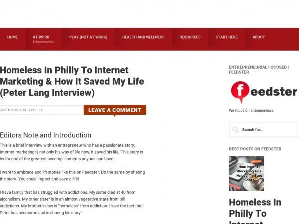 https://www.feedster.com/successful-entrepreneurs-stories/stories-of-sacrifice/peter-lang-interview-homeless-in-philly-to-internet-marketing/