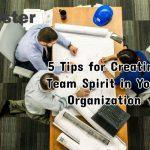 5 Tips for Creating Team Spirit in Your Organization