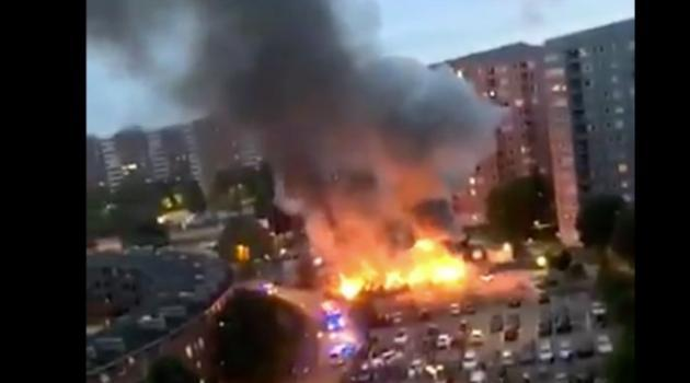 Swedish PM 'really' mad at horde of masked youths who torched 80 cars, threw rocks at police