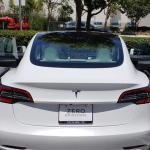 Tesla Model 3 Delivered With Three White Door Inserts – And One Brown