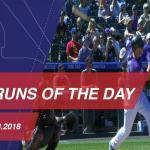Watch all the home runs hit on September 13, 2018
