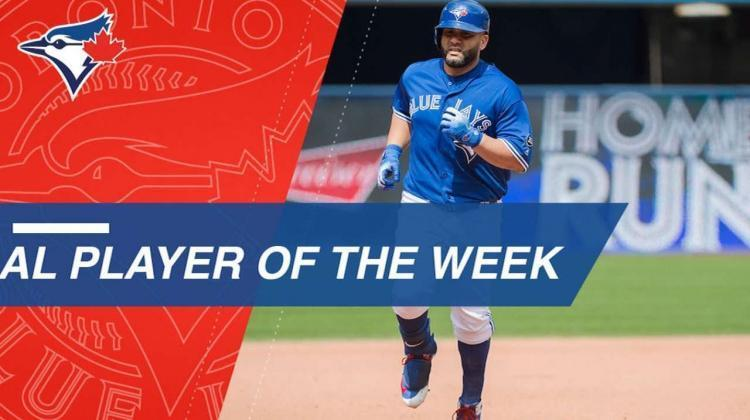 Kendrys Morales named AL Player of the Week