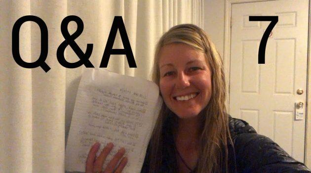 CDT Q&A 7: bear prep, Chinese Wall, off-trail exercise, sleep system, toes, etc.