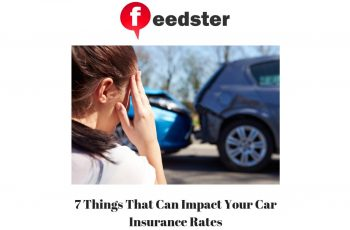 7 Things That Can Impact Your Car Insurance Rates