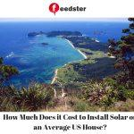 How Much Does it Cost to Install Solar on an Average US House?